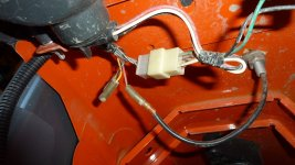 Can't find rear worklight wires for Kubota M tractor - TractorByNet | Wiring On A Tractor Work Lights |  | TractorByNet