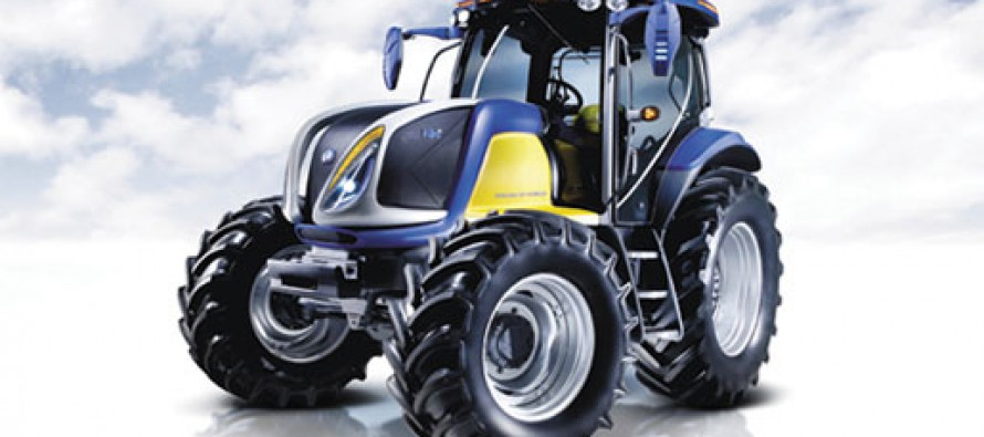 The NH2 Hydrogen Powered Tractor by New Holland
