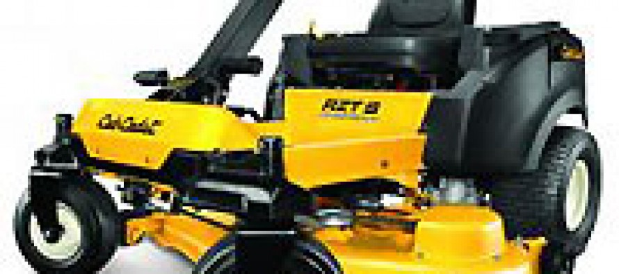 Cub Cadet's New RZT S Zero Turn Mower