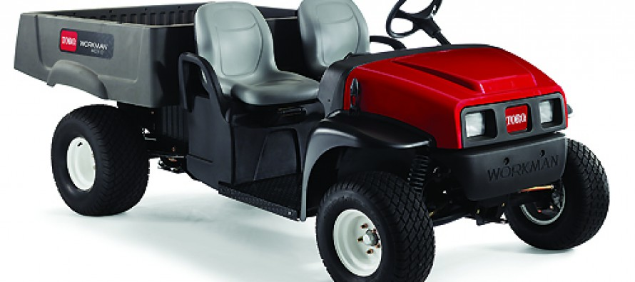 The New Toro Workman MDX-D Utility Vehicle
