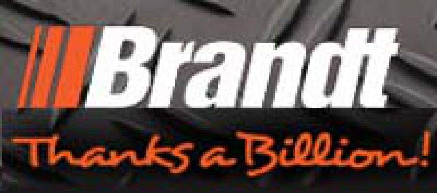 "Brandt Launches ""Thanks A Billion"" Program"