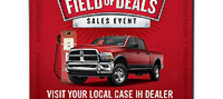 Case IH Sweepstakes: Win a 2012 Dodge Ram!