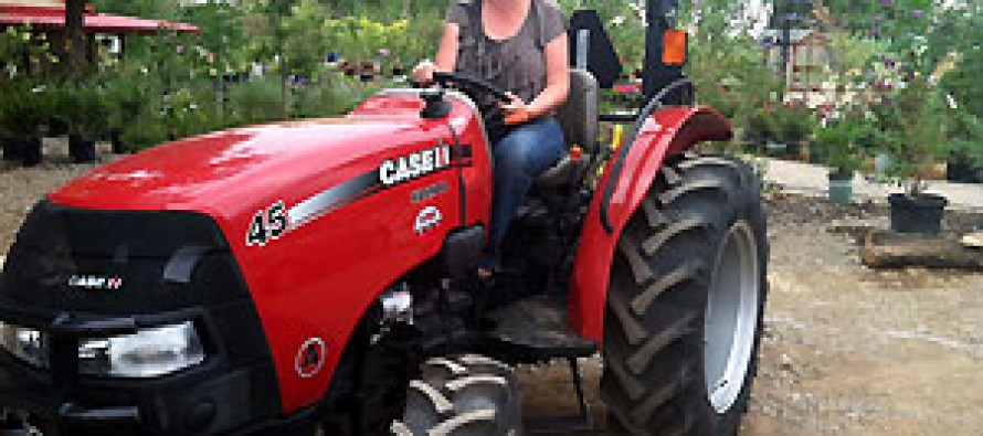 Agriculture Advocate Wins Case IH Tractor