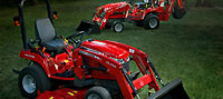 Massey's All New GC1700 Subcompact Tractors