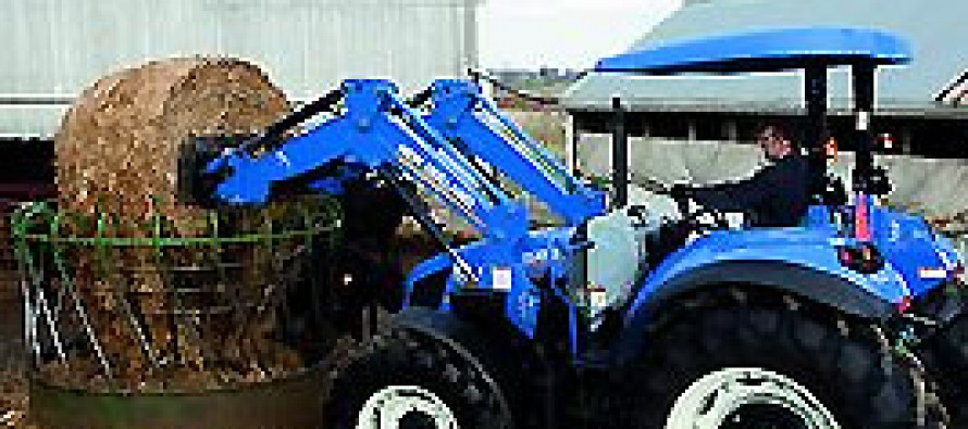 New Holland Launches the T4 Series Tractors