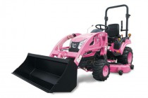 Kioti Pink Tractor for Breast Cancer Awareness
