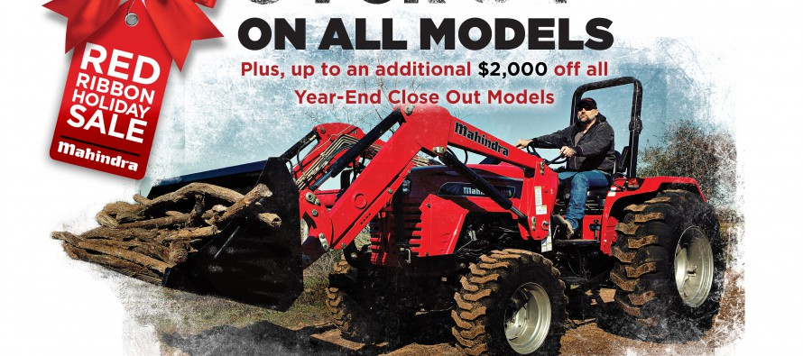 Mahindra Offers Best Prices of the Year