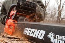 Echo Showcases New & Top-Level Chainsaws