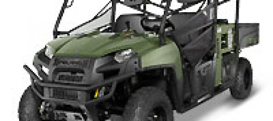 New Polaris RANGER UTV with Hippo Multipower