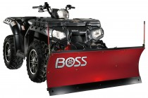 BOSS Snowplow Adds 4' ATV Plow to Lineup