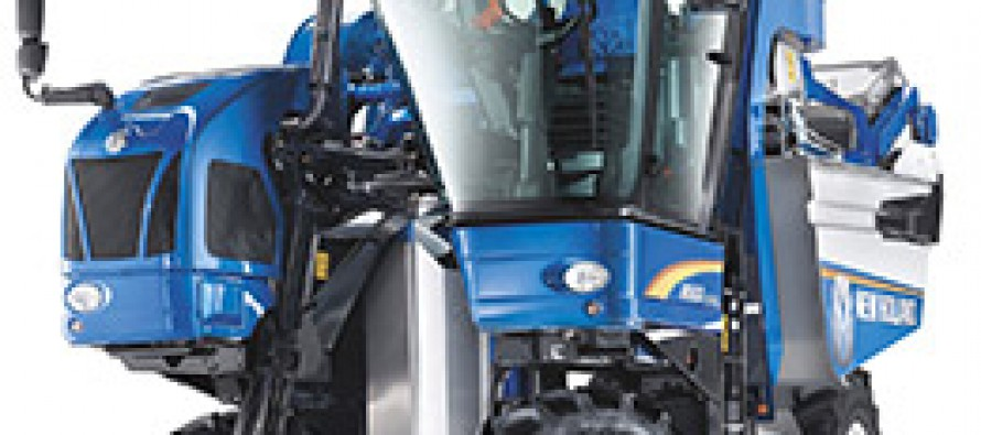 New Holland Braud Olive and Grape Harvesters Now Available at New Holland Dealers