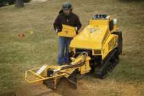 Vermeer SC40TX Stump Cutter Features Exclusive Ride-on Platform