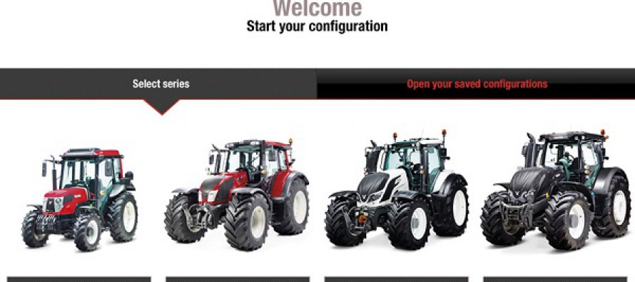 Configure Your New Valtra in Comfort and at Home