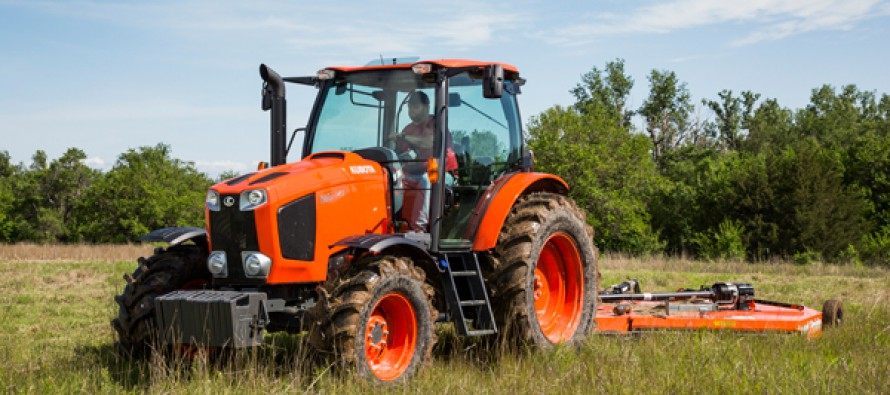 Kubota Introduces New M6-Series: Utility Tractor Line with Deluxe Features