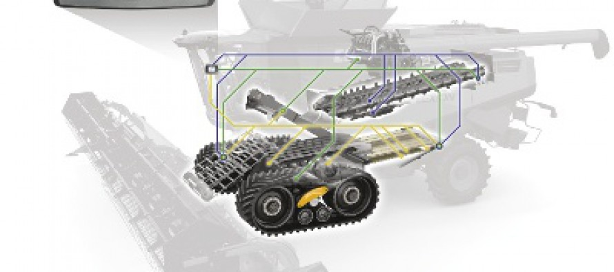 New LEXION Combine Technology Automates Threshing and Cleaning