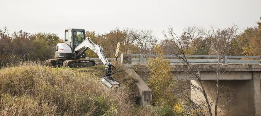 Bobcat Company Expands Flail Mower Attachment Offering for Compact Excavators
