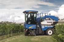 New Holland Introduces Compact Range Braud Grape Harvesters