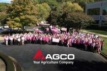 AGCO 'Takes the Fight to the Field' to Stand Up to Breast Cancer