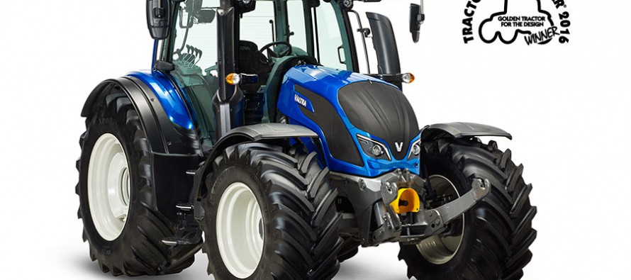 Valtra Wins ´Golden Tractor for the Design 2016´ Award at Agritechnica