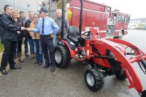 Mahindra Gives Away 17th Tractor in 2015