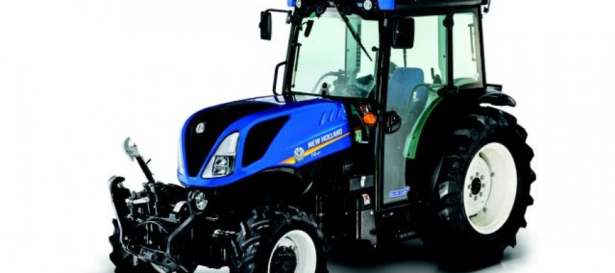 New Holland Debuts New Specialty Tractors