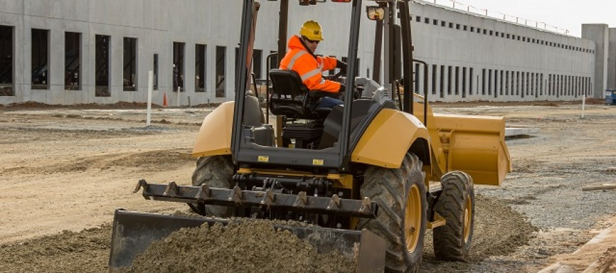 Cat Adds 415F2 to Loader Tractor Line-Up