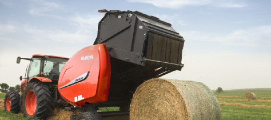Kubota Introduces New Round Baler Designed for Dairy and Cattle Producers