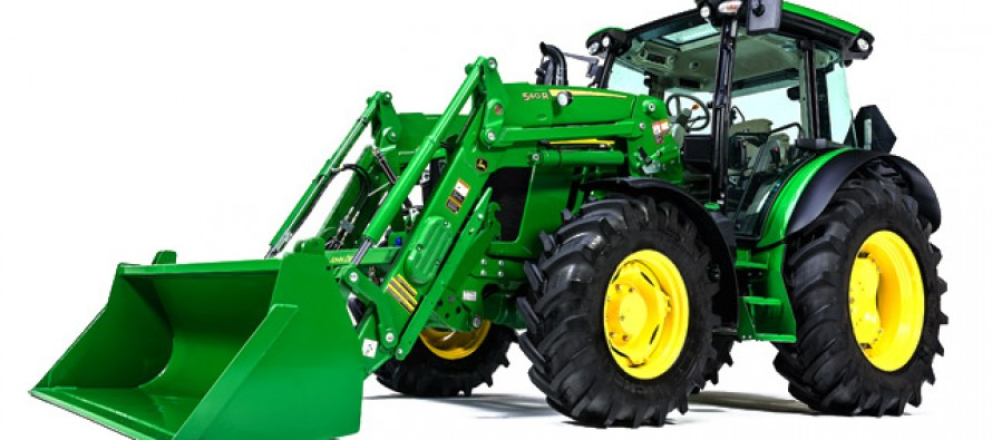 New John Deere 5R Series Tractors Introduced
