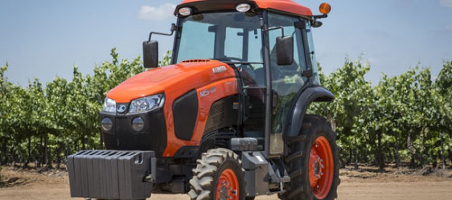 Kubota Introduces Four New Utility-Class Specialty Ag Tractors