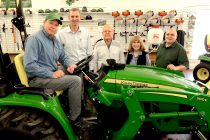 Southeast Michigan Family Wins 2017 John Deere Drive Green Grand Prize