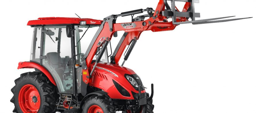 Zetor Introduces 3 New large frame 4-cylinder Compact Utility tractors in 47.6HP and 56HP